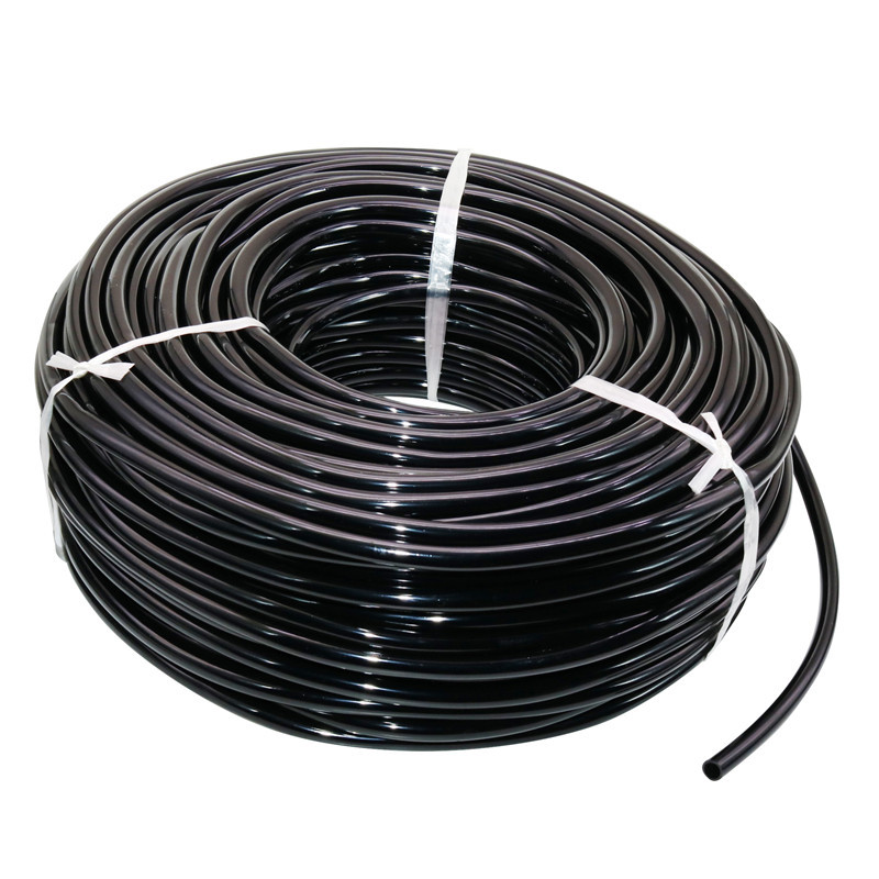 Watering Hose Dropper Hose 4/7mm Garden Drip Pipe PVC Hose Irrigation System Watering Systems For Greenhouses Black Capillary