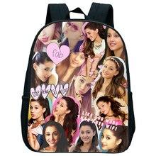 2019 new Ariana Grande childrens fashion backpack girl boy bag cartoon kindergarten