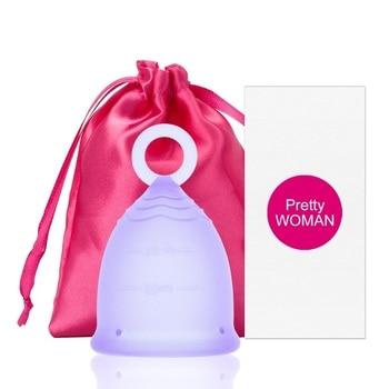 Anillo de Copa Menstrual de silicona, higiene femenina, Copa Menstrual para mujeres