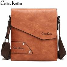 Celinv Koilm delluomo Messenger Bag 2PCS Sst Vendita Calda New Crossbody Borse A Spalla Per Gli Uomini di Affari Casual di Alta Qualità tote Bag in pelle