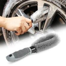 Car Hub Wheel Cleaning Brush Tools Anti wear For Mercedes benz A B C E CLA GLA GLC V M Class W204 W205 W212 W213 W166 W164