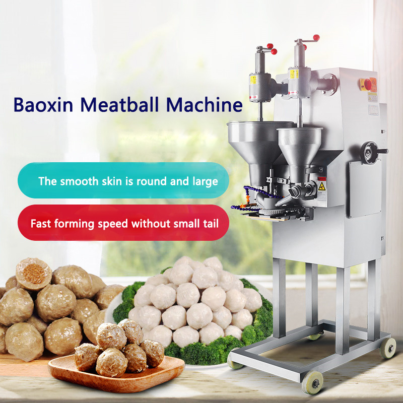 Commercial Meatball Maker XZ-609 Stuffing Meatball Machine Automatic Meatball Molding Machine 220-230pcs/min 1.5kw