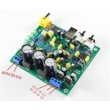 KIT de bricolaje CS8416 CS4398, placa de Audio DAC, USB coaxial, DAC 192K, placa de 24 bits, AC 15V 0 AC15V