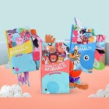 Bébé livre doux tissu livre jouets 0 12 mois enfant en bas âge nouveau-né apprentissage développer Cognize lecture Puzzle infantile livre calme pour les enfants