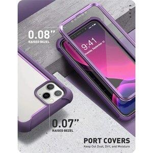 Image 5 - Чехол для iPhone 11 Pro Max 6,5 дюйма (выпуск 2019 года) i BLASON Ares полноразмерный прочный прозрачный бампер с встроенной защитой экрана