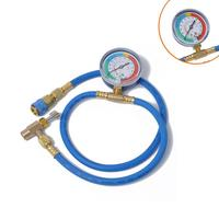 Car Auto Air Conditioning AC R134A Refrigerant Recharge Measuring Hose w/ Gauge Universal Auto Accessories