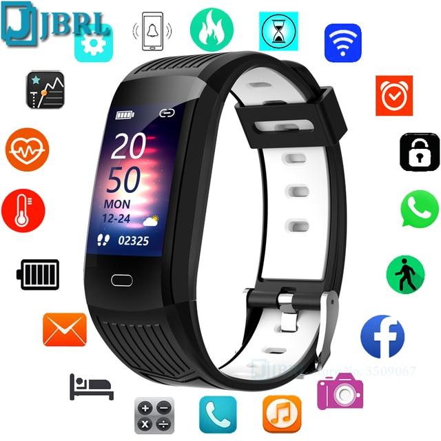 2021 Silicone Bracelet Smartwatch Men Women Smart Watch Fitness Tracker For Android iOS Smart Clock Sport Waterproof Smart-Watch 1