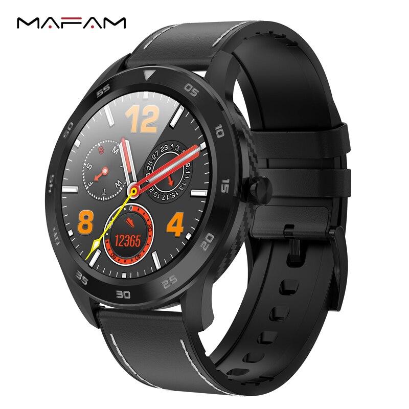 Mampa DT98 Bluetooth cadran d'appel montre intelligente plein écran tactile bracelet Fitness Tracker ECG moniteur de fréquence cardiaque Ip68 étanche