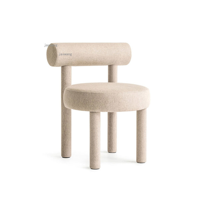 Wood Dining Chairs w/ Backrest  2