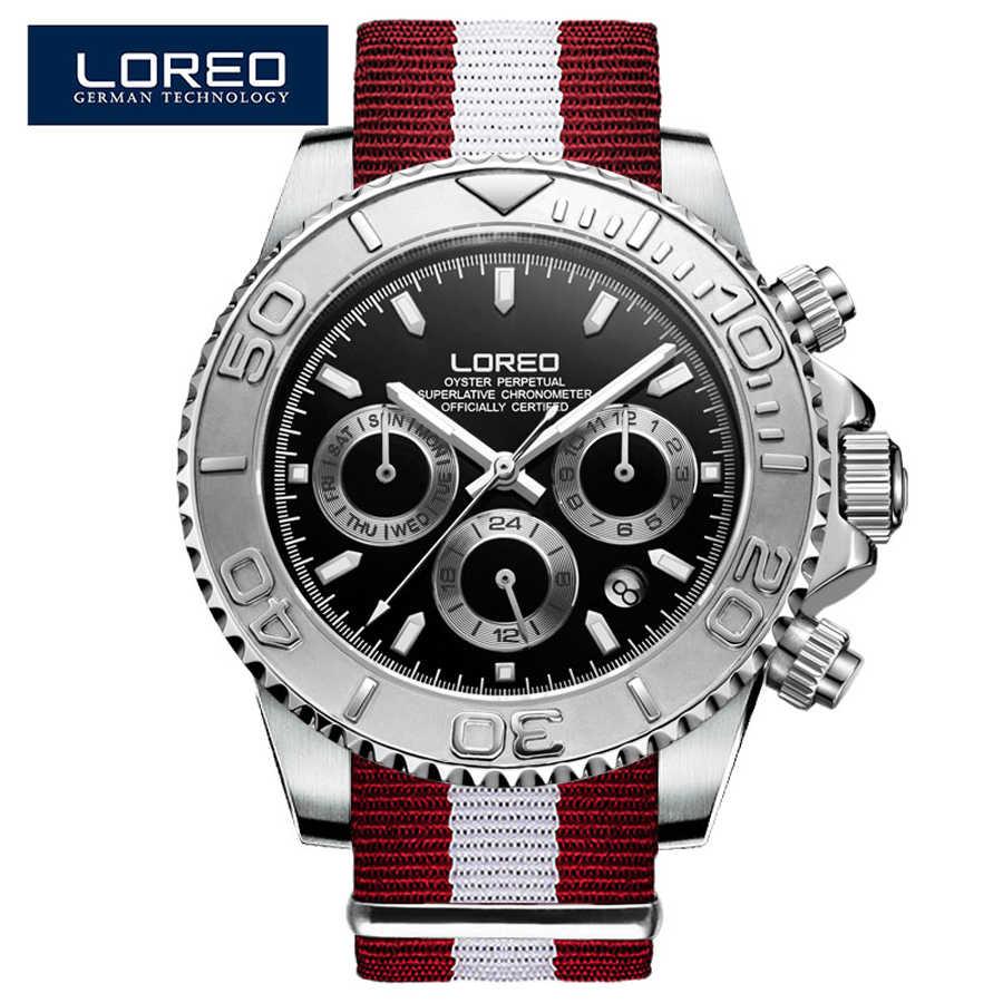 サファイアガラスメンズ腕時計防水 200 メートル日付カレンダーメンズビジネスカジュアル自動機械式腕時計男性用時計リロイ