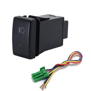 Image 4 - 1PC fan speaker Front Fog Light Rearview mirror folding Driving recorder radar Switch Button For Mazda 5