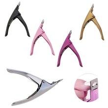 Novo acrílico uv gel clippers cortador de unhas falsas dicas de corte unhas ferramenta manicure ferramentas beleza venda quente