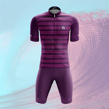2019 Pro Summer purple Cycling Jersey Set Mountain Bike Clothing MTB Bicycle Clothes Wear Maillot Ropa Ciclismo Men Cycling Set phtxolue long sleeve pro cycling set 2017 maillot ciclismo mtb jersey bike wear clothes summer cycling clothing men