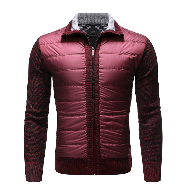 2019 Autumn And Winter Plus Velvet Thick Casual Sweater Men's Lapel Zipper Cardigan Men's Thick Warm Sweater Vest Jacket Coat
