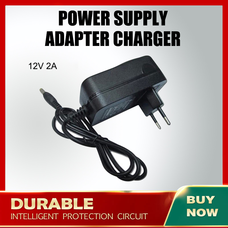 12V 2A AC DC Power Adapter Wall Charger For Teclast F7 / Teclast F7 Plus Notebook title=