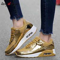 Złote trampki kosz femme kobiety trampki buty damskie trampki damskie obuwie damskie srebrne różowe zapatillas mujer Casual 2019