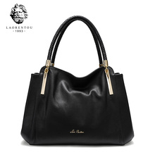 LAORENTOU Womens Handbags Genuine Leather Chic Crossbody Bag Lady Casual Tote Purse Fashion Shoulder Bags Handbag 958J083L