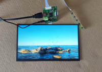 11.6 inch Display Kit USB 5V 1920*1080P High brightness 600ccd Sharp LCD Screen Mult Fngers Touch Support Win7 8 10 Raspberry Pi