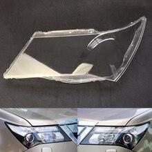Для Honda Acura MDX 2007 2008 2009 2010 2011 2012 2013 объектив фары автомобиля крышка Замена прозрачные линзы Авто оболочка Крышка
