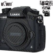 الكيوي المضادة للخدش كاميرا الجسم غطاء الجلد حامي ل باناسونيك لوميكس DC GH5 GH5 كاميرا مكافحة الشريحة 3M ملصق شريط الياف الكربون