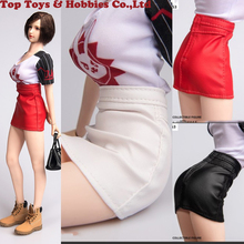 1/6 Scale Short Leather skirt Hip skirt Female Clothes for 12 inches UD PH Body Figures