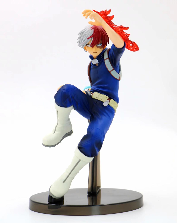 Mijn Hero Academia Todoroki Shoto Actiefiguren Speelgoed Anime Boku Geen Hero Academia Todoroki Shoto Beeldje Diorama Brinquedos