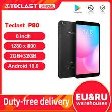 Newest Teclast P80 8″ Tablet Android 10 2GB RAM 32GB ROM Allwinner A133 1280×800 IPS Quad Core Dual Wifi Bluetooth 5.0 Tablets