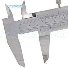 Нержавеющая сталь 0-150 мм 0,05 мм моноблок штангенциркуль из углеродного волокна цифровой штангенциркуль микрометр измерительные приборы