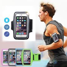 Sportowa opaska do biegania torba skrzynki pokrywa opaska do biegania uniwersalny wodoodporny Sport uchwyt na telefon komórkowy Outdoor Sport słuchawka telefonu Pou tanie tanio IXUR CN (pochodzenie)
