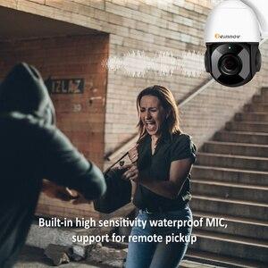 Image 4 - Einnov HD 5MP בית אבטחת IP מצלמה חיצוני אלחוטי PTZ 30X זום אודיו וידאו מעקב לנטנה טלוויזיה במעגל סגור Wifi ראיית לילה Ir