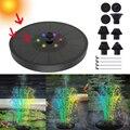 Миниатюрный Насос для фонтанов на солнечной батарее, плавающий водяной фонтан с питанием от солнечных батарей для птиц, фонтанов, водопадов...
