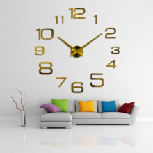 Wall-Clock Clock-On-The-Wall Modern-Design Mirror Decorative Gift Acrylic Living-Room