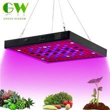 Cultiver la lumière à spectre complet 410 730nm LED lampes de croissance AC85 265V 50W éclairage de croissance des plantes pour les plantes fleurs culture des semis