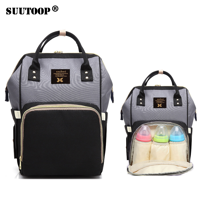 Baby Diaper Mummy Maternity Nappy Bag Waterproof Travel Women's Backpack Nursing For Mum Baby Care Female Stroller Pram Maternal