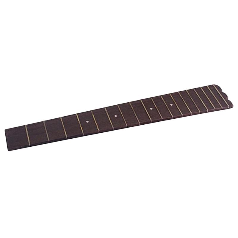 Quality 26 Inch Ukulele Fretboard Fingerboard 18 Frets Rosewood For Concert Scale Ukulele Parts