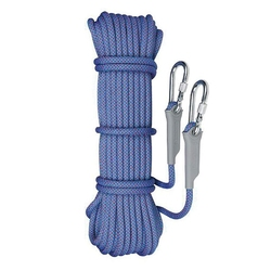 Camnal Climbing Rope Is Suitable for Camping Rock Mountaineering Hiking Diving Length 10M Diameter 12Mm Blue Rope