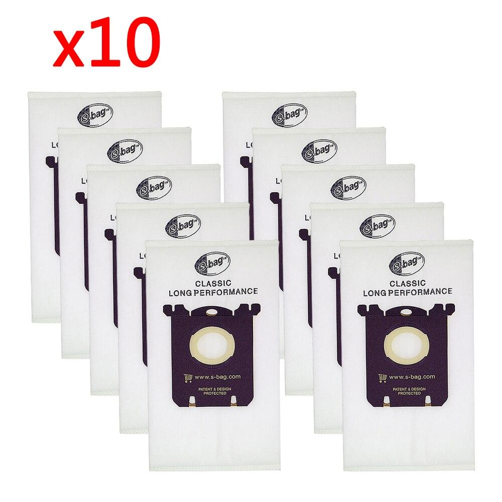(10 Pieces/lot) Vacuum Cleaner Parts Dust Filter Bag For Bork VC9919 VC 9118 VC9016 VC9819 VC9818 VC 9919 V510 V511 Ecolux