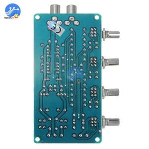 Image 4 - NE5532 Stereo Preamp Tone Board Volume Control 4 Channel HIFI Digital Amplifier AC 12V Sound Board for Telephone Preamp