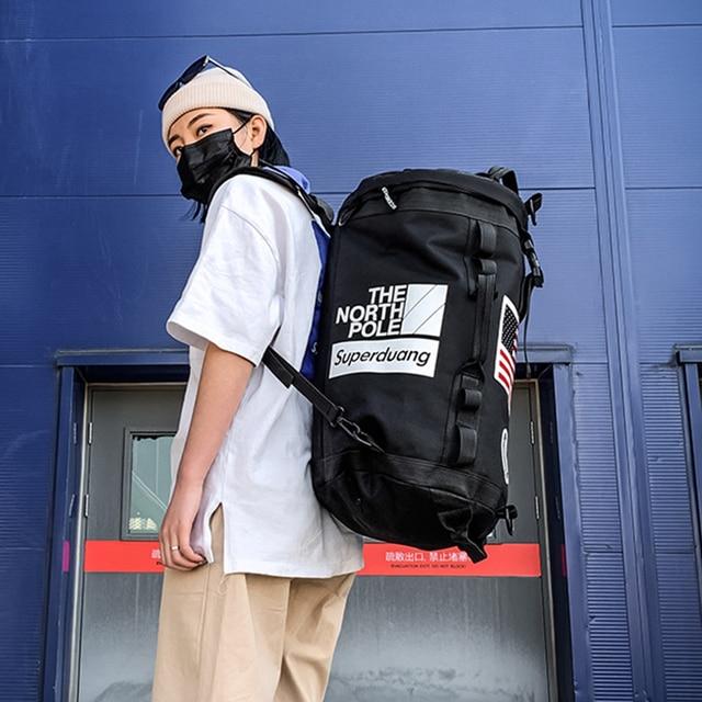 Gym Backpack Gym Duffle Bag Sport Basketball Backpack Sportsbag for Women Fitness Lovers Travel Mochila Yoga
