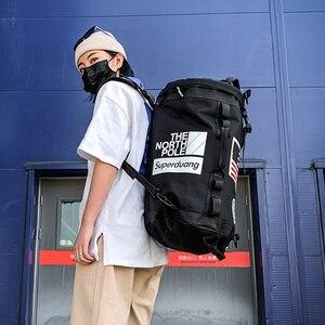 Image 3 - Plecak na siłownię worek marynarski na siłownię sportowy plecak dla koszykarza Sportsbag dla kobiet miłośnicy Fitness Travel Mochila Yoga torba na ramię 2020