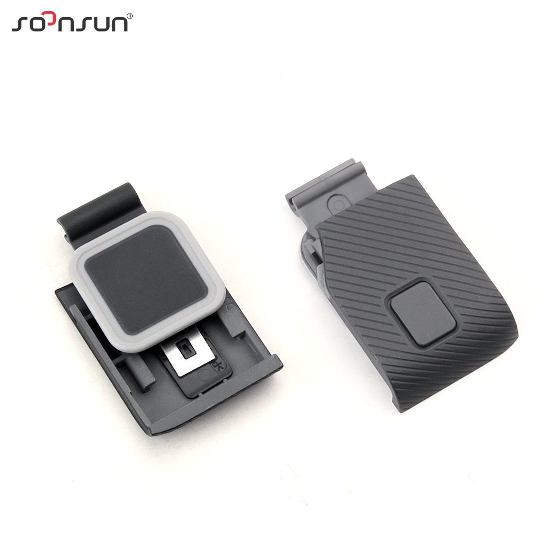 Image 4 - SOONSUN Protective Lens Replacement Side Door Repair Parts USB C Mini HDMI Port Side Cover for GoPro HERO 7 6 5 Black CameraSports Camcorder Cases   -