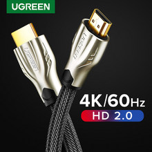 Ugreen Hdmi-Compatibele Kabel 4K/60Hz Splitter Kabel Voor Xiaomi Mi Doos V2.0 Audio Kabel Schakelaar splitter Voor Tv Box Digitale Kabel