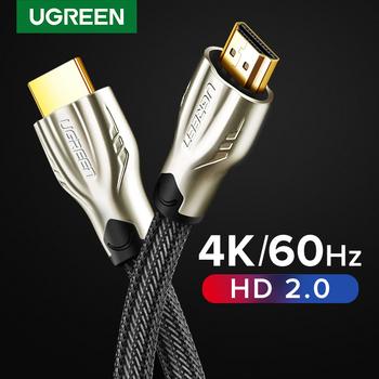 Ugreen z wejściem HDMI kabel 4K 60Hz kabel splittera dla Xiaomi Mi Box V2 0 kabel Audio przełącznik Splitter do Tv pudełko kabel cyfrowy tanie i dobre opinie Mężczyzna Mężczyzna Rohs HD102 HD101 CN (pochodzenie) HDMI Cables Pakiet 1 Polybag Braid HDMI2 0 Projector Amplifier
