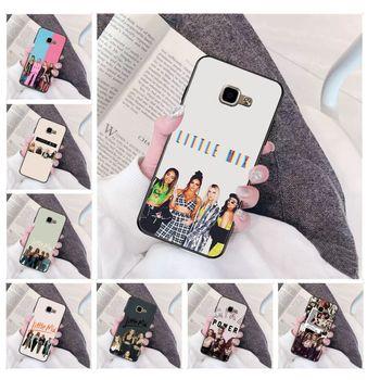 Funda de teléfono de gama alta de lujo DIY Little Mix para Samsung a3 a5 a6 a9 a7 a8 a10 a20 a40 a70