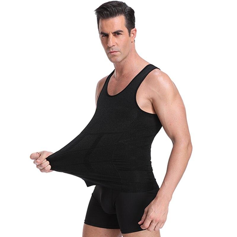 Classix Men Body Toning Shapewear Lose Belly Control Slimming Vest Body Shaper Modeling Underwear Waist Trainer Posture Corset in Shapers from Underwear Sleepwears