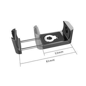 Image 5 - Портативные внешние аккумуляторы SmallRig Holder fr, внешние аккумуляторы шириной 53 81 мм с функцией холодного башмака и микрофоном для крепления 2378
