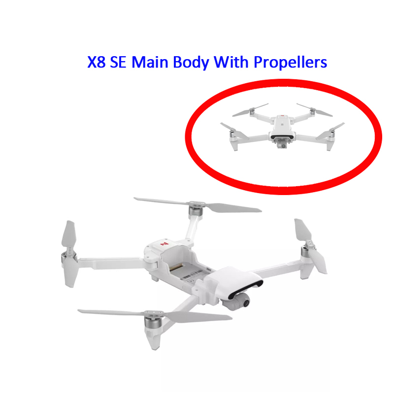 FIMI X8 SE Remote Control Quadcopter Spare Parts Main Body With Propellers