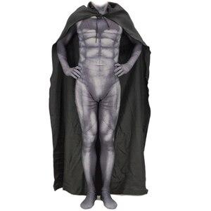 Image 2 - Batman v Superman: Dawn of Justice Bruce Wayne Cosplay Costume Zentai Superhero Bodysuit Suit Jumpsuits Cloak