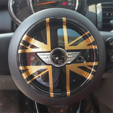 Steering Wheel Cover Dashboard Trim Sticker for BMW Mini Cooper ONE S JCW F Series F54 F55 F56 F57 F60 Countryman Clubman Decal phone stand car phone holder on steering wheel for bmw mini cooper f54 f55 f56 clubman countryman holder