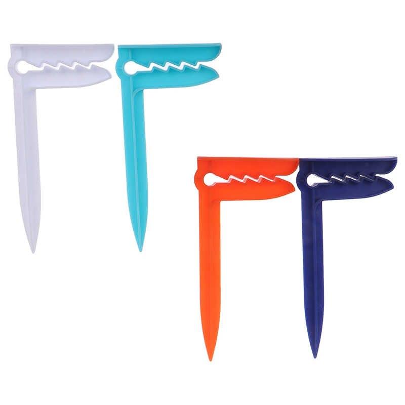 1PC Handuk Pantai Klip Camping Mat Klip Outdoor Pakaian Pasak untuk Lembar Pemegang Handuk Klip Clamp untuk Handuk Pantai